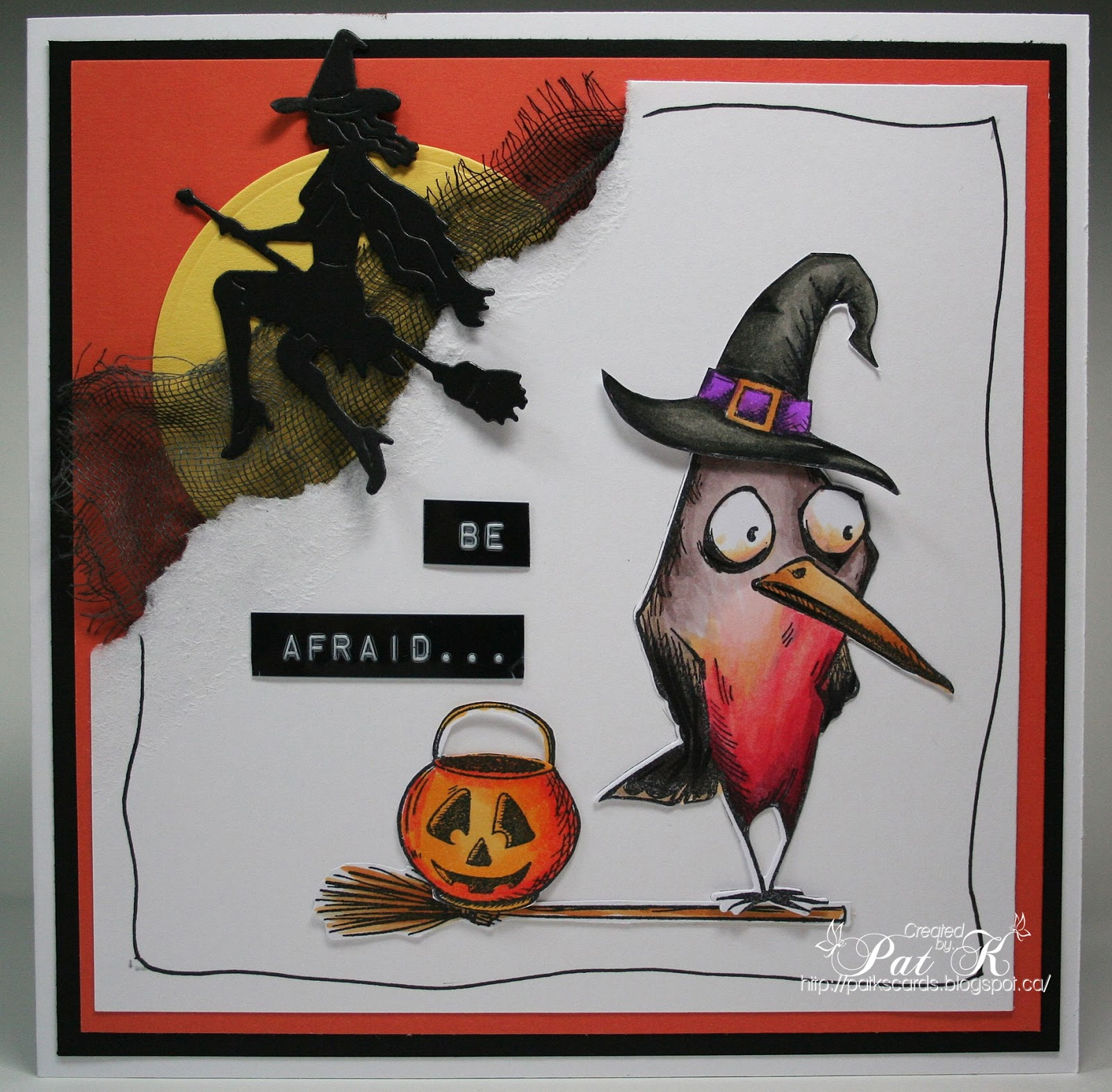 Crazy Halloween Decorations: Paper, Markers, Ink, Oh My!: Bird Crazy Halloween