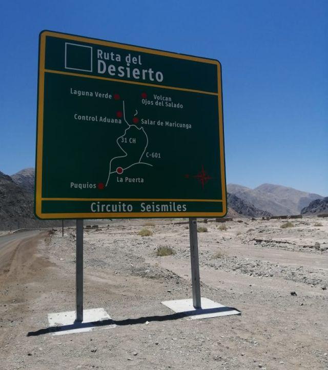 Ruta del Desierto, Circuito de los seismiles