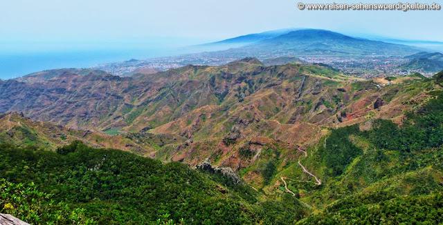 Anaga Gebirge Teneriffa - Ausblick vom Mirador Pico del Ingles