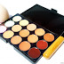 15 Colors Contour Concealer Palette, Sponge Puff and Powder Brush Review