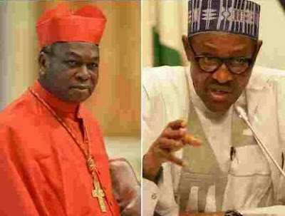 We Have Lost Confidence In Your Govt., Onaiyekan tells Buhari