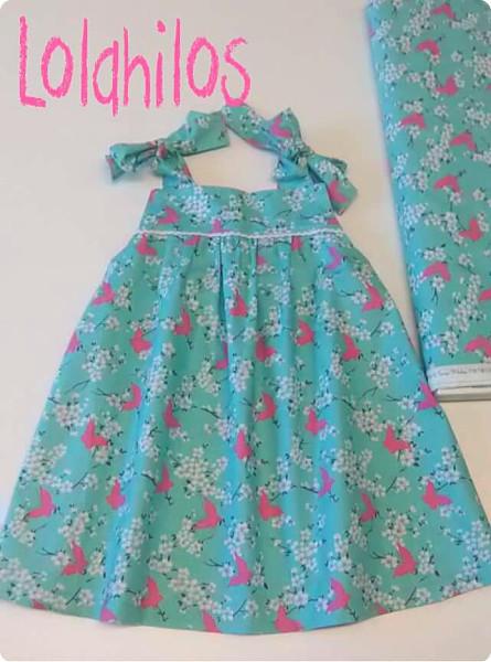 Con hilos, lanas y botones: Summer Picnic Dress de mariposas