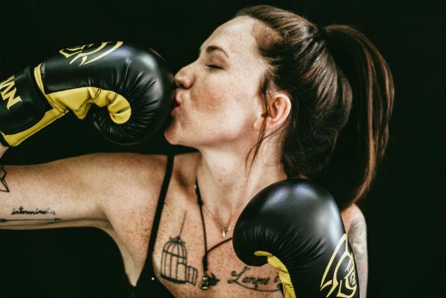 Boxeo deporte top para un estilo de vida saludable