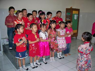 Foto Imlek TK Kristen Kalam Kudus Surakarta