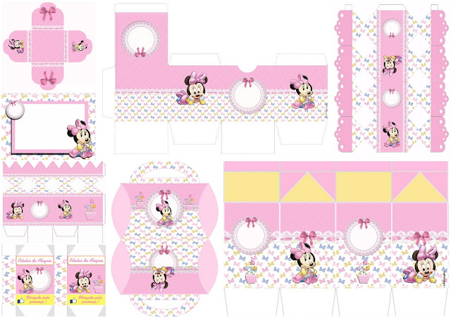 Lovely Minnie Baby: Invitations and Free Printable Boxes ...