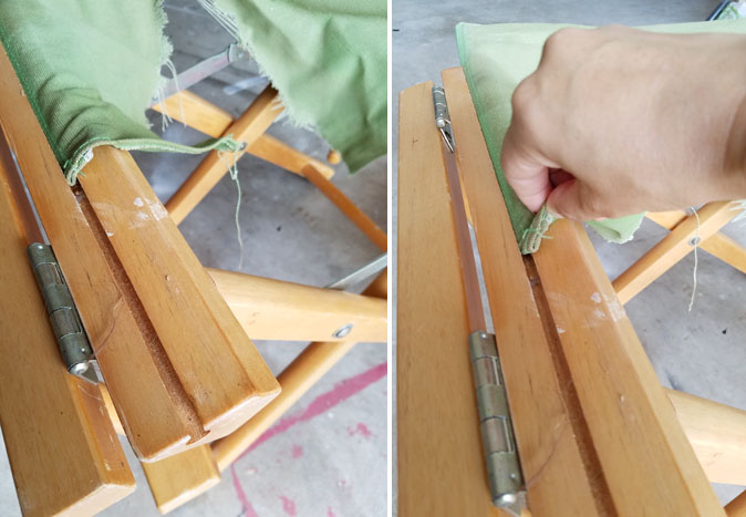 How To Fix Directors Chairs Canvases
