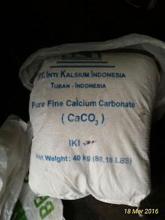 MEDAN - KAPUR GAMPING / CaCO3 / TEPUNG GAMPING / LIMESTONE / CALCIUM CARBONATE