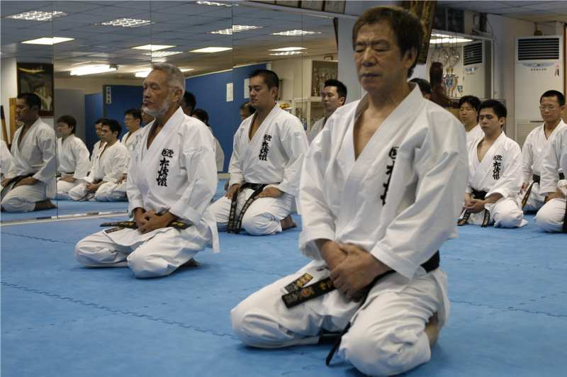 Diário De Um Estudante De Karate Do O Lema Do Karate O Dojo