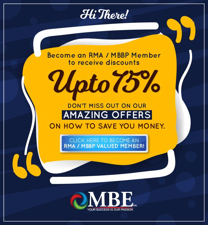 rma membership discount banner