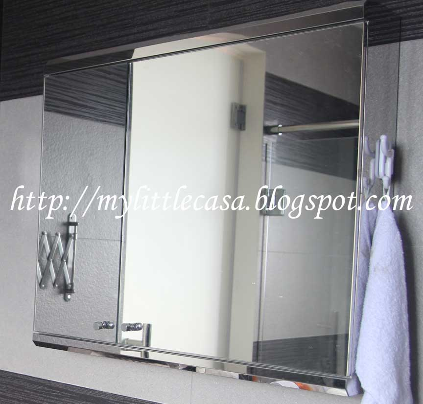 Home sweet home my little casa cost of renovating a - Bathroom cabinets singapore ...