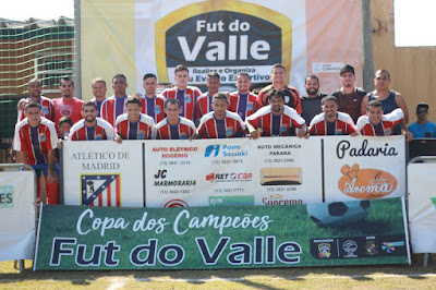 Atlético de Madrid sagrou-se campeão da Copa dos Campeões  em Ilha Comprida