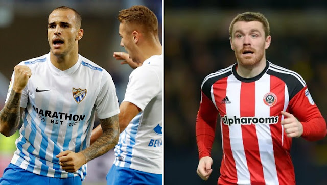 Malaga vs Sheffield United en vivo