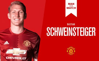 Schweinsteiger Man of the Match MU vs Wigan 4-0 FA Cup