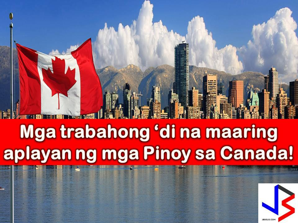 Canada has implemented temporary deployment ban for Overseas Filipino Workers (OFWs).  According to the Philippine Overseas Employment Administration (POEA) and Department of Labor and Employment (DOLE), the two-year ban will be for employers hiring from Temporary Foreign Worker Program (TFWP) in Alberta, Canada.  Under the TFWP, Canadian employers are allowed to hire expatriate or foreign workers in temporary basis to fill in the shortage if no Canadian resident or permanent resident is available for the job.
