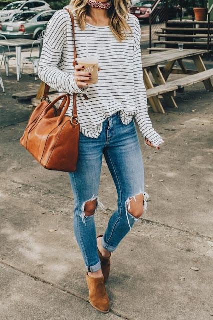 Super Cute Fall Outfit Ideas 2019