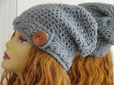 Crochet Dreamz: Sydney Slouch Hat Crochet Pattern, Cable ...