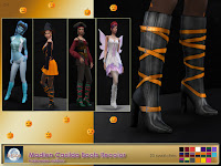 Madlen Casilda Boots Recolor - Halloween edition