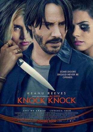 Knock Knock 2015 BRRip 720p Dual Audio In Hindi English