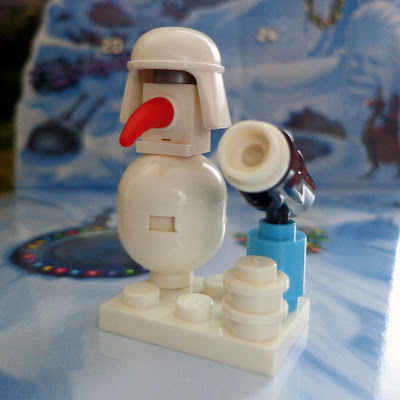 Day 7: Hoth Snowman