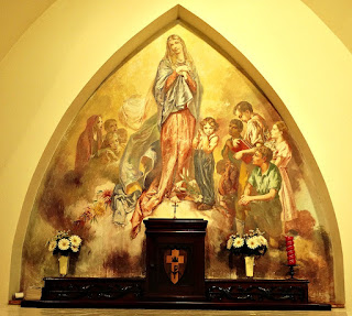 Aldo Locatelli - Nossa Senhora e As Crianças - Capela do Morro do Sabiá, Porto Alegre