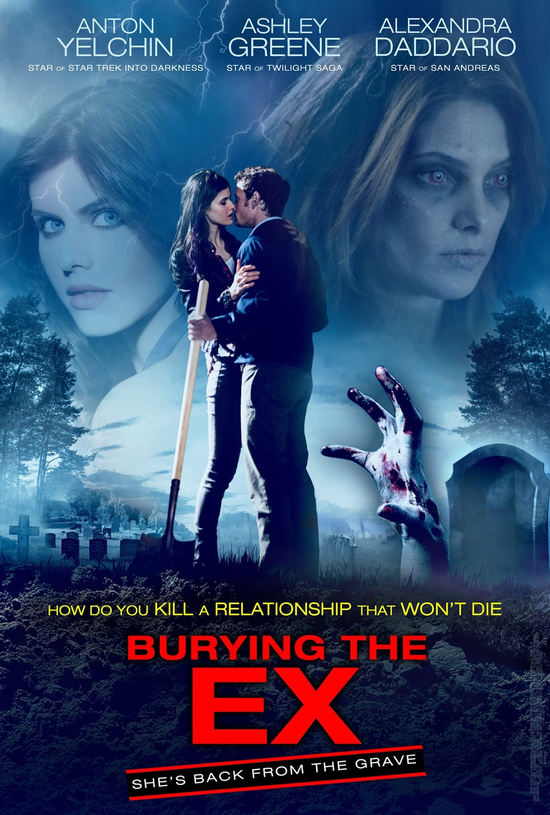 Nonton Film Burying the Ex (2014)
