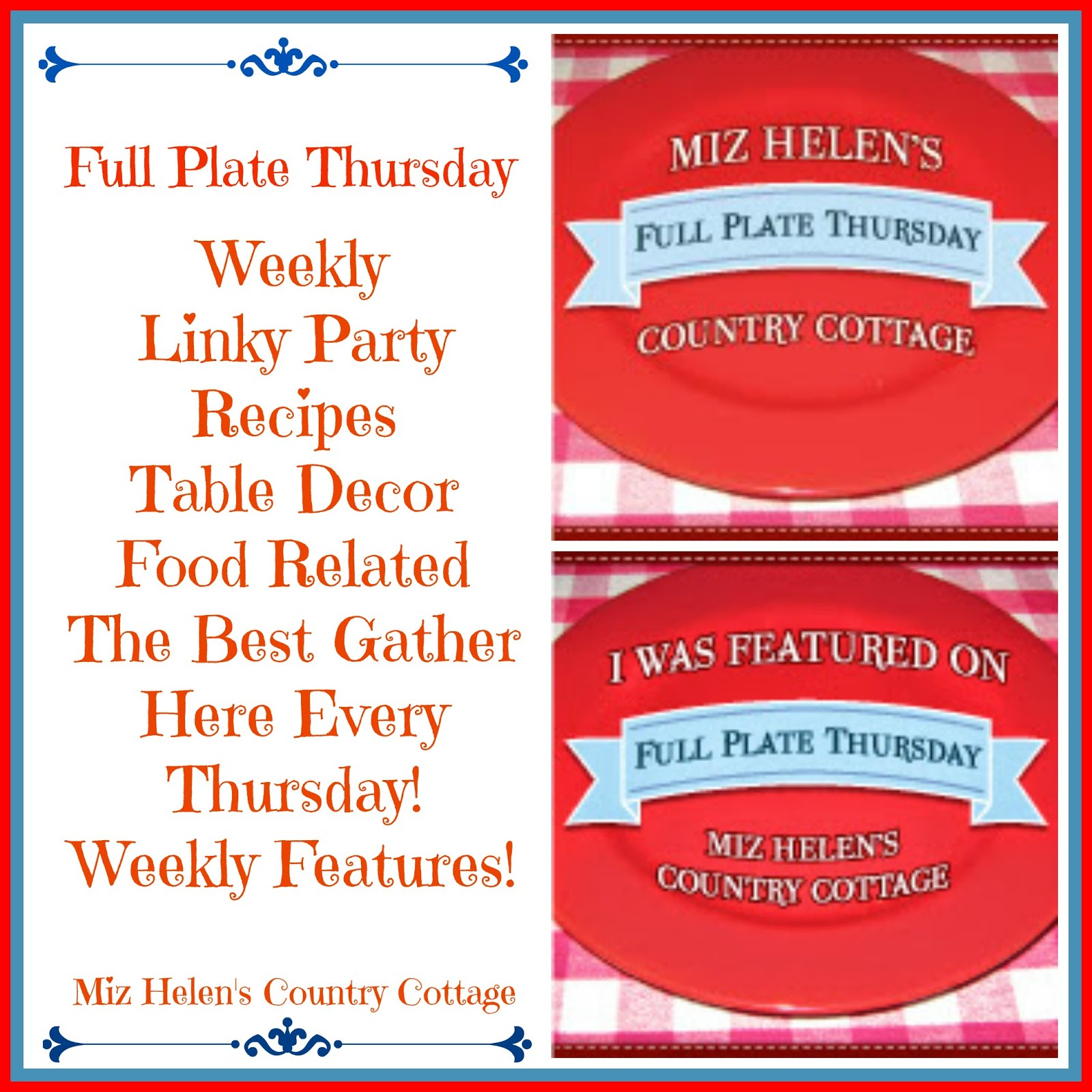 Full Plate Thursday,445 Current Party