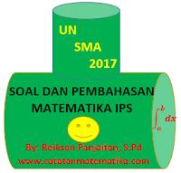 Soal dan Pembahasan Matematika IPS UN SMA 2017