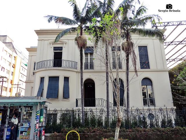 Vista ampla da Casa da Don'Anna - Campos Elíseos - São Paulo