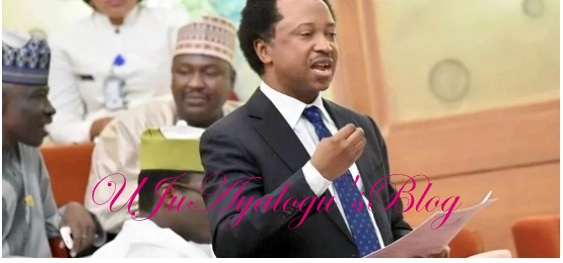 Shehu Sani blames the Cabal for Maina's recall