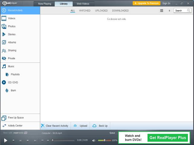 تحميل أفضل برنامج تشغيل الميديا RealPlayer 18.1.11 مجانا