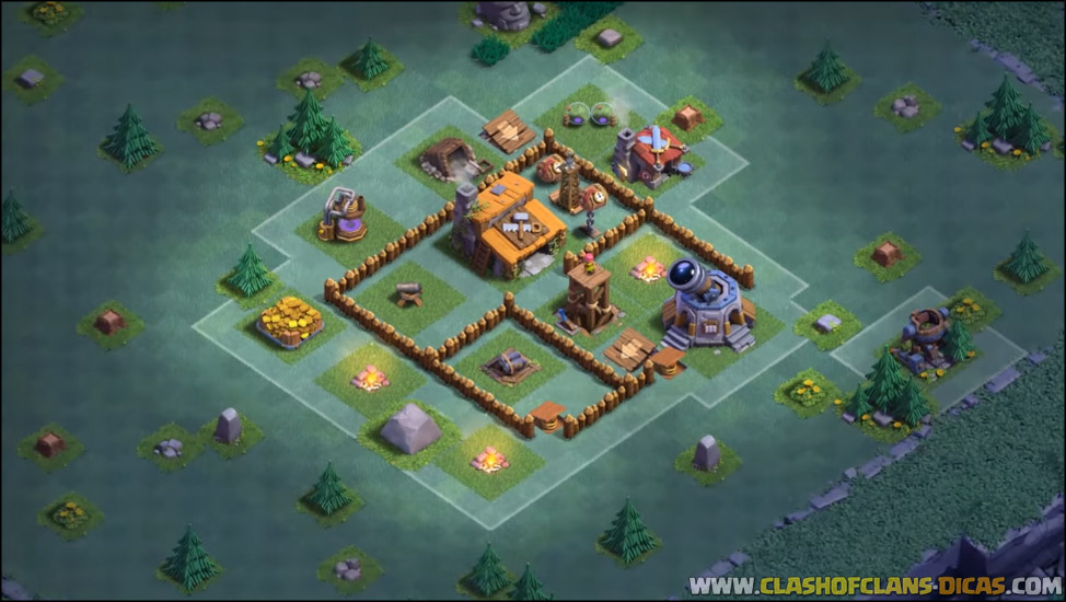 Builder Hall  Clash Of Clan