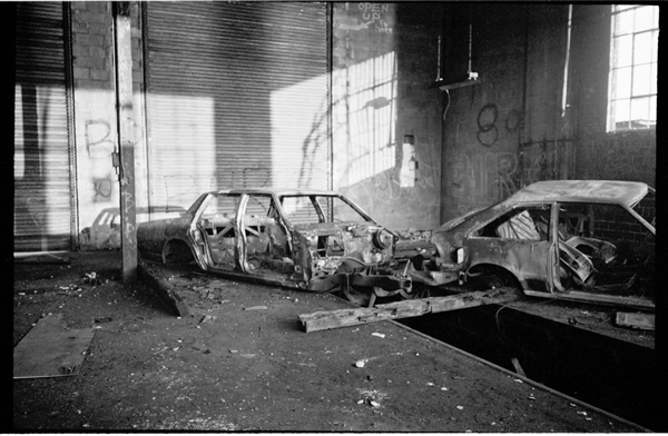 Used Cars Dealerships >> Car Stripping in Brooklyn, 1980's ~ vintage everyday