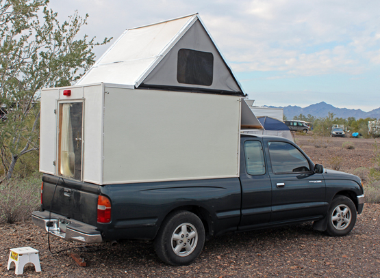 A Homemade Pop Up Camper