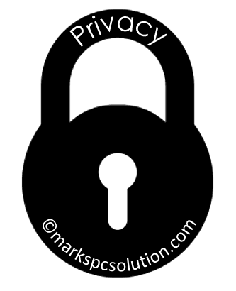 Privacy Policy of Marks PC Solution
