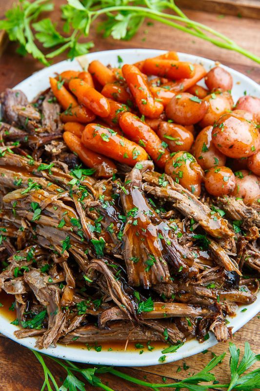 Slow Cooker Balsamic Glazed Roast Beef #slow #cooker #balsamic #glazed #roast #beef #dinnerideasfortonight #deliciousdinnerrecipes #healthychickenrecipes #quickeasydinnerrecipes #easyhealthydinnerrecipes #easydinnerrecipesfortwo #dinnerrecipesfortwo #dinnerrecipes #dinnerideas #dinner