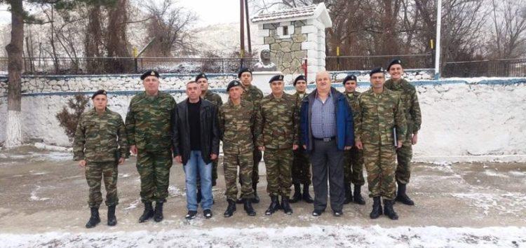 Στα φυλάκια Λαιμού και Βροντέρου ο Διοικητής 1ης Στρατιάς και του Γ' Σώματος Στρατού (pics)