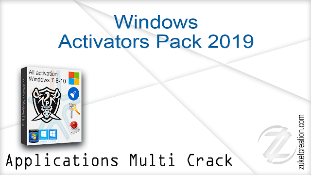 Windows Activators Pack 5 May 2019   | 14.4 MB
