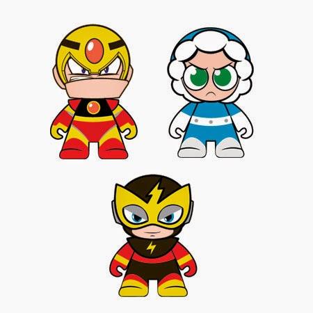 Rockman Corner Mega Man X Kidrobot Mini Figures Are Back On
