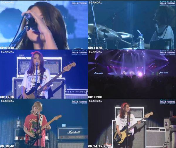 [TV-Variety] SCANDAL – TV Asahi Dream Festival 2016 (2016.10.22)