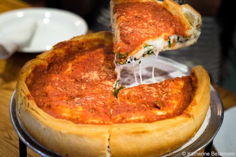 Deep Dish Pizza Girls' Weekend in Chicago