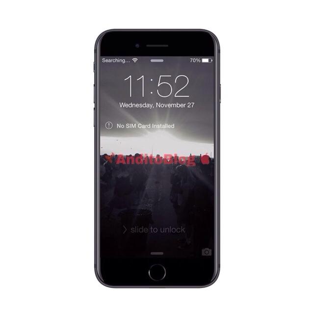 IPhone tidak ada kartu sim terinstal