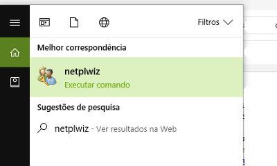Como Remover a Senha de Inicialização do Windows 10