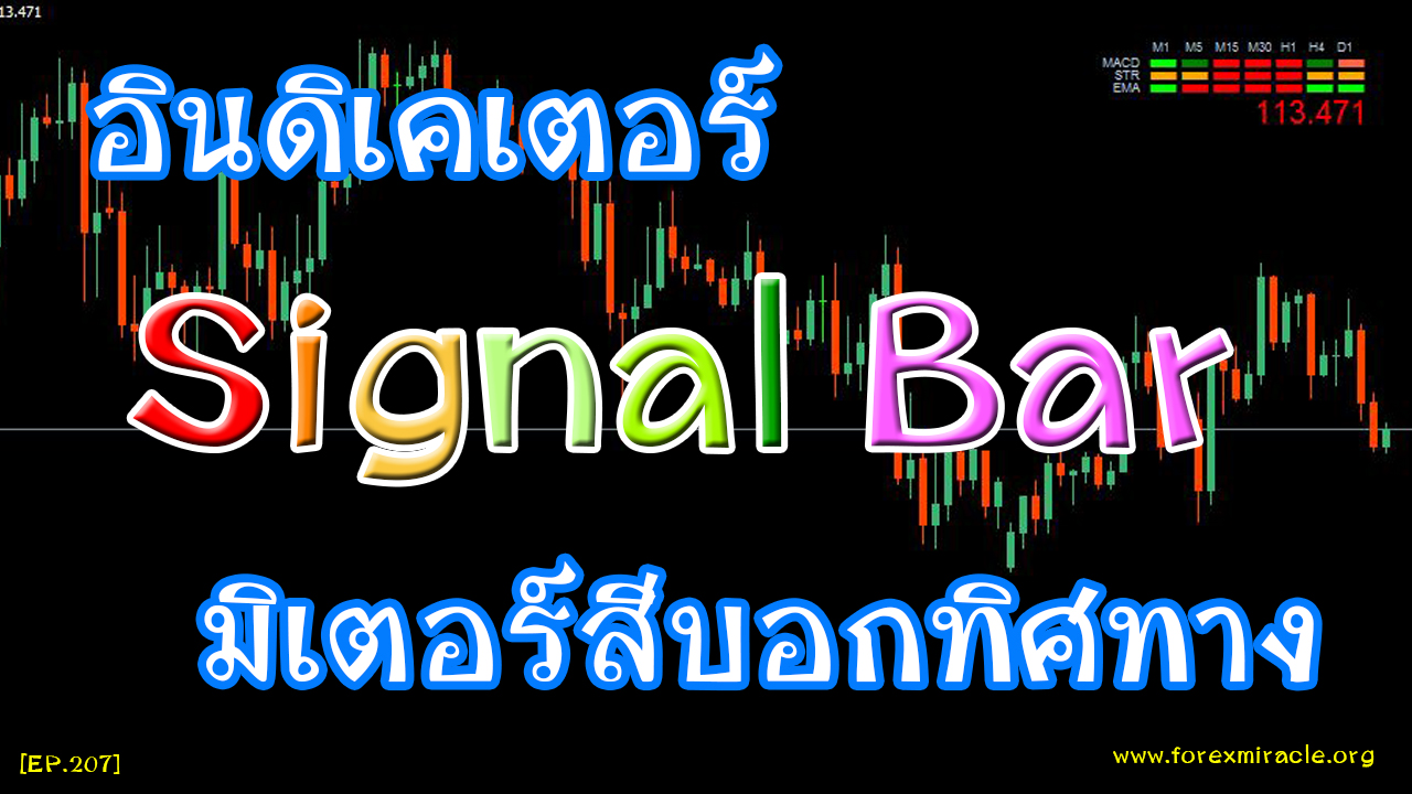 Black white signal bars in forex trading