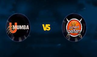 U Mumba vs Puneri Paltan
