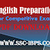 English Preparation for Competitive Exams PDF Download