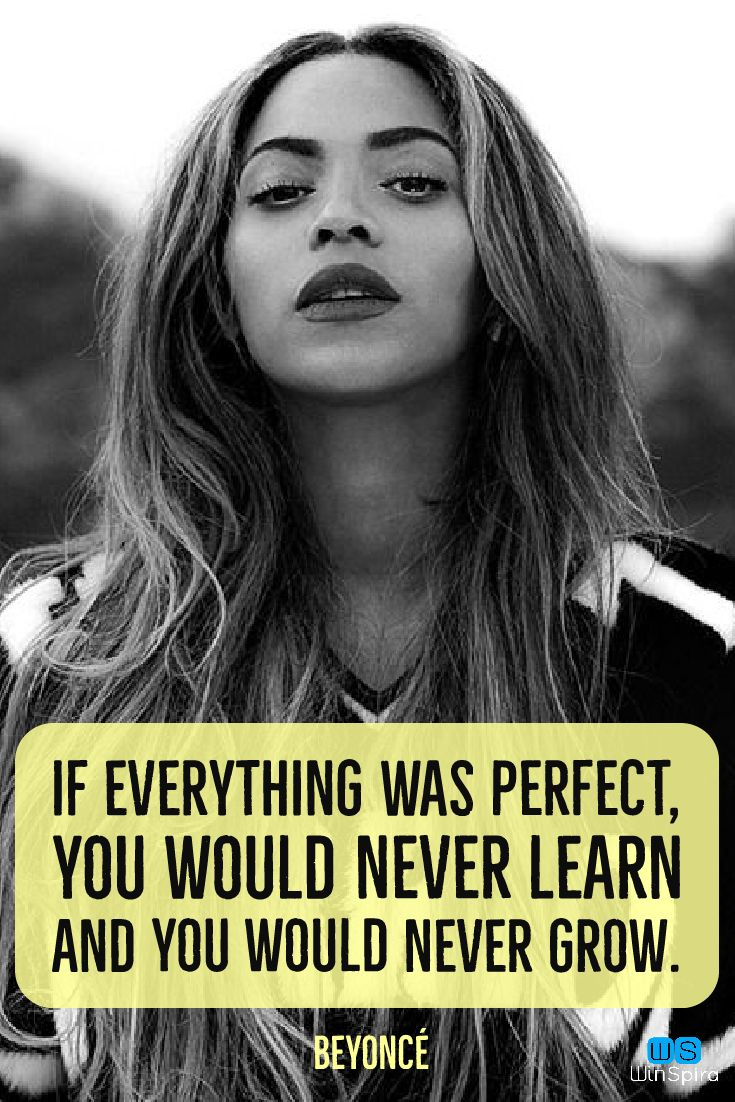 22 inspirational Beyoncé quotes - Winspira