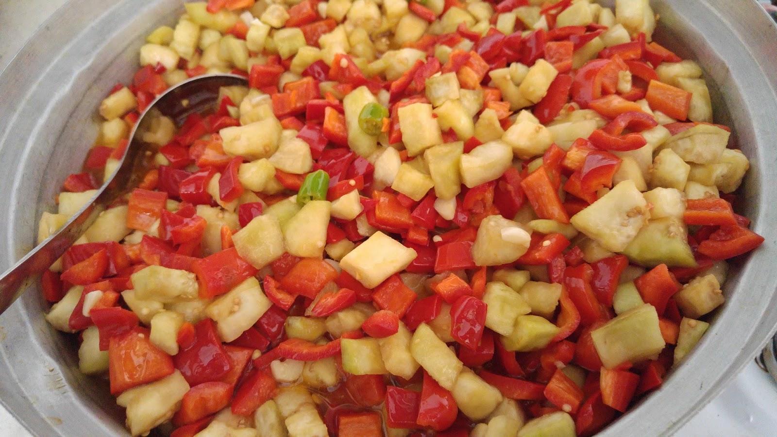 Köz Patlıcan Turşusu Yapılışı