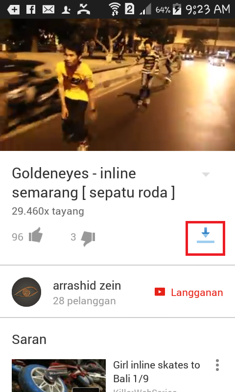 Tutorial Download Video Youtube di Android Tanpa Aplikasi