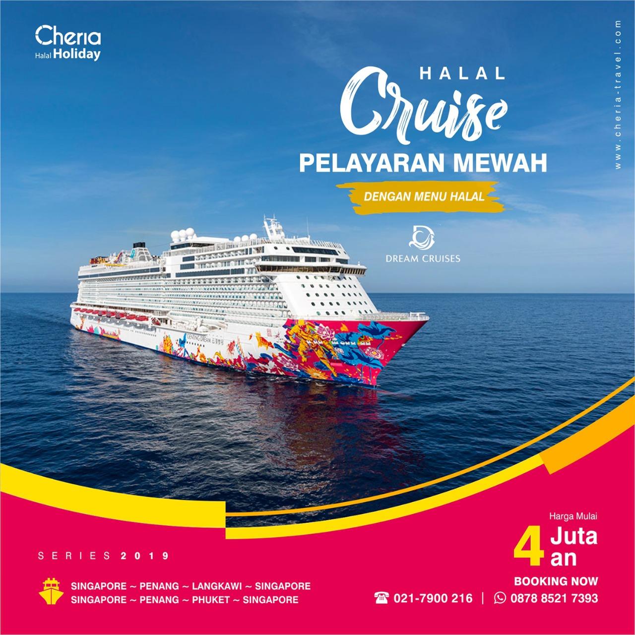 halal cruise cheria holiday