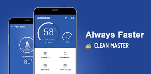 clean master. aplicativos de limpeza para Android